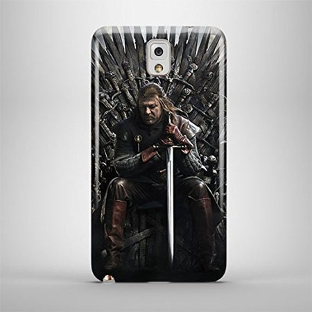 Ganma Game Of Thrones Iron Throne Ned Stark Case For Samsung Galaxy Note 3 Hard Case Cover (Ned Stark Costume)