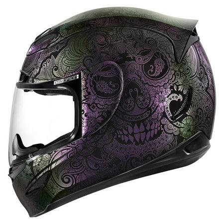 Icon Airmada Chantilly Opal Motorcycle Helmet -