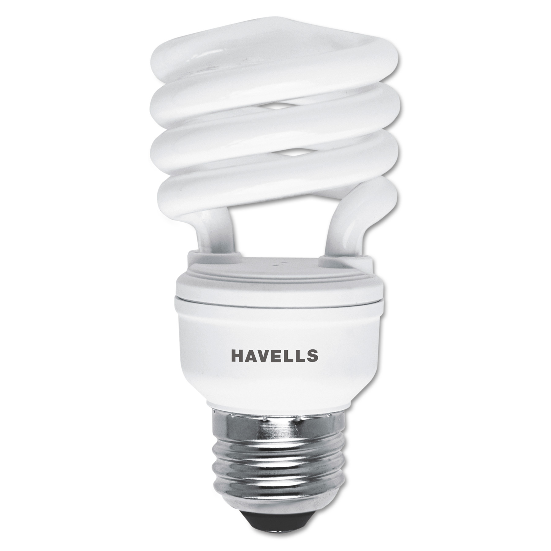 Havells Spiral, Soft White Energy Saver Compact Fluorescent Bulb, 13 Watts, 4/Pack