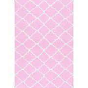 "The Rug Market Lattice Pink 4.7"" x 7.7"" Area Rug"