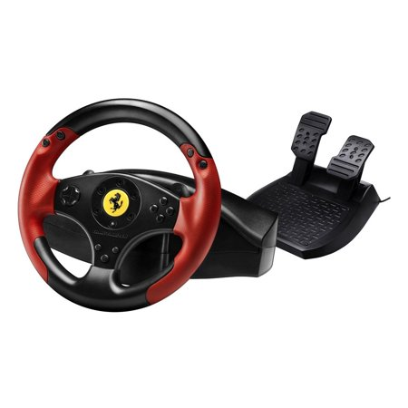 Ferrari Racing Wheel Red Legend Edition (F1 Steering Wheel Ps3)