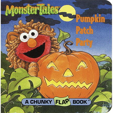 Pumpkin Patch Party (Sesame Street) (Board Book) - Easy Way To Carve A Halloween Pumpkin