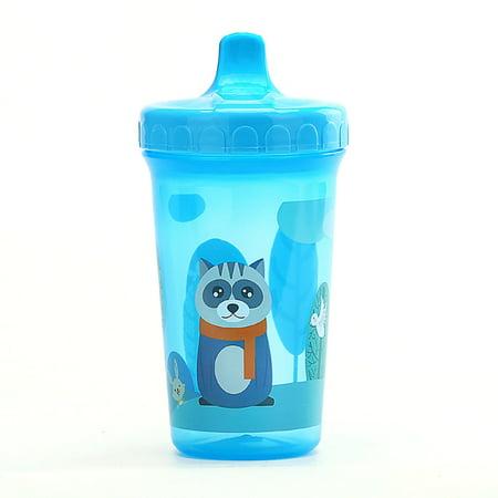 AkoaDa 300ml Baby Kids Duckbill Cute Cup Children Learn Training Feeding Drink Water Bottle Cartoon School Drinking Food Milk Bottles (Toddler Cups For Milk)