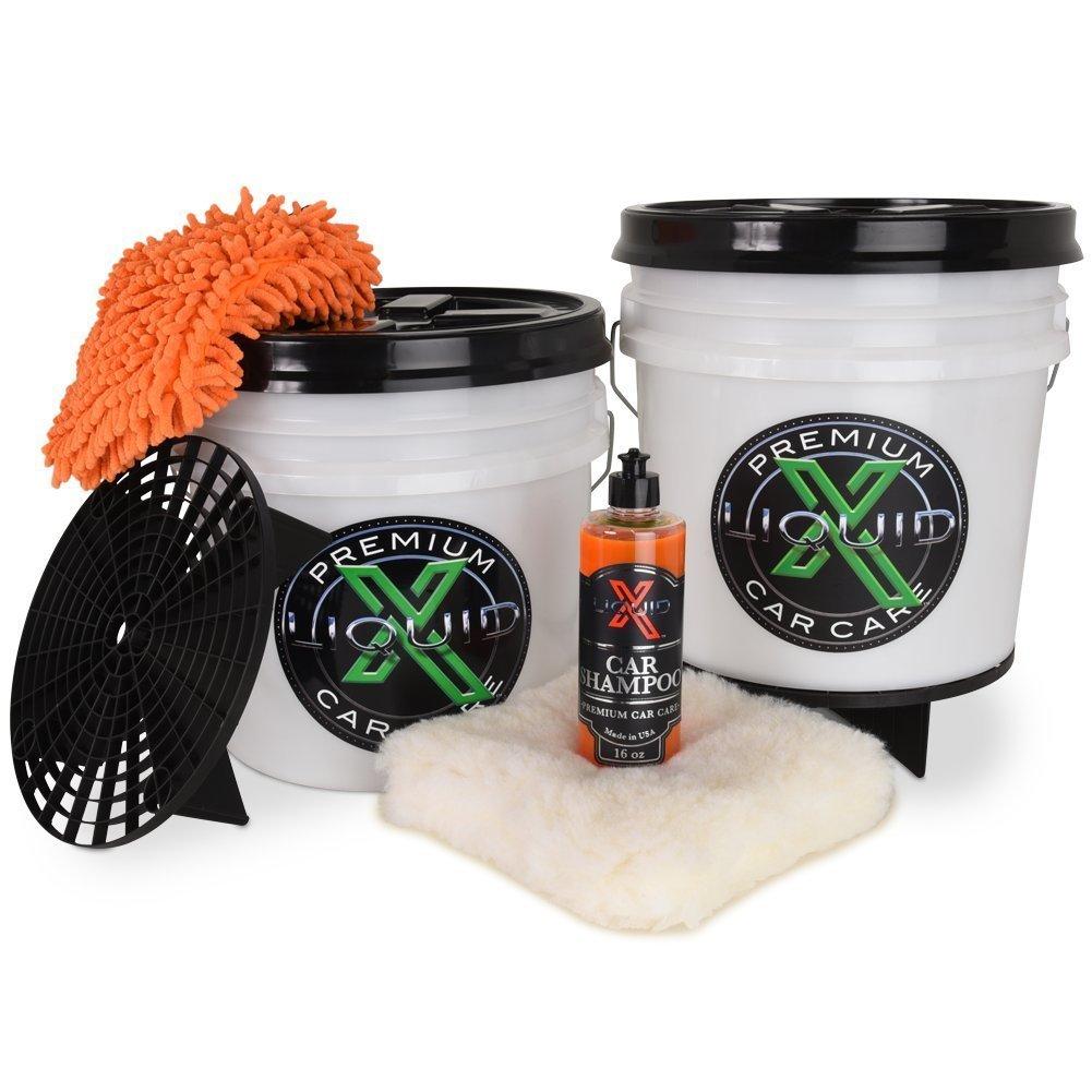 Liquid X Dual Bucket Wash Kit