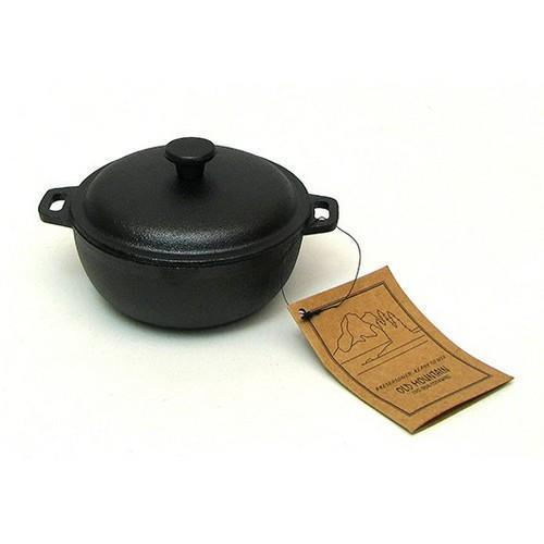 Old Mountain Mini Dutch Oven Pot With Lid 2 Cups 0166-10180