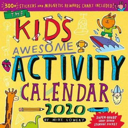2020 the Kids Awesome Activity Wall Calendar ()