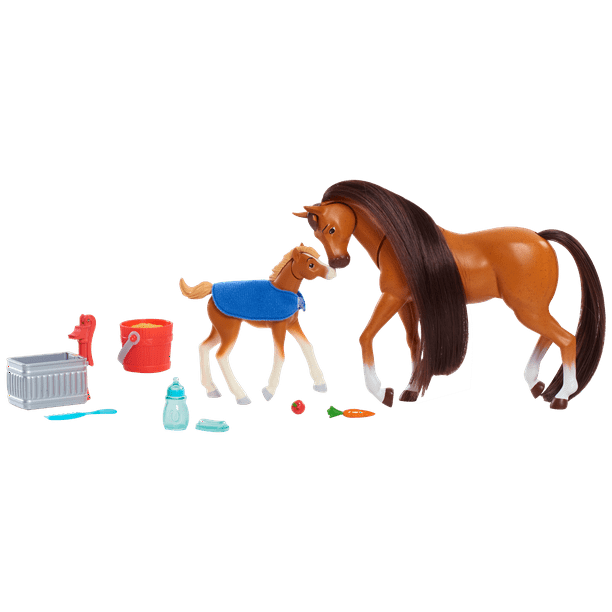 Spirit Riding Free Feed and Nuzzle Horse Set - 2 Pack