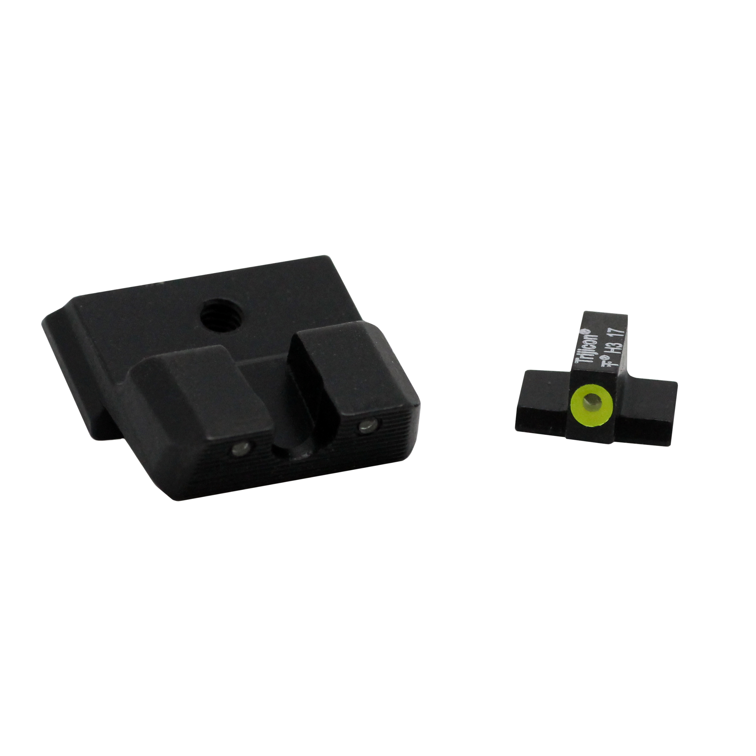 Trijicon HD XR Night Sight Set Smith & Wesson Shield .40, .45, and 9mm, Yellow Front Outline Lamp by Trijicon