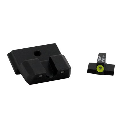 Trijicon HD XR Night Sight Set for Smith & Wesson Shield .40, .45, and 9mm, Yellow Front Outline