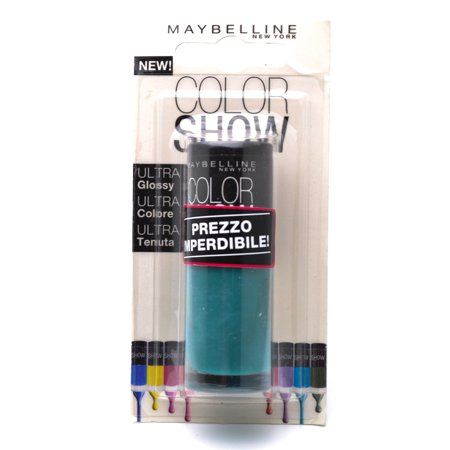 Maybelline Color Show Nail Lacquer, 120 Urban Turquoise 7mL, (Italian Packaging).