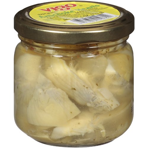 Vigo Quartered Marinated Artichoke Hearts, 6 oz (Pack of 12)