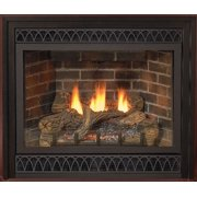"""Best Direct Vent Gas Fireplaces - Deluxe 36"""" Direct-Vent NG Millivolt Fireplace with Blower Review"""