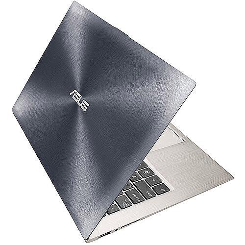 "Asus Ultrabook Silver 13.3"" Zenbook Prime UX31A-XB52 PC with Intel Core i5-3317U Processor and Windows 7 Professional"