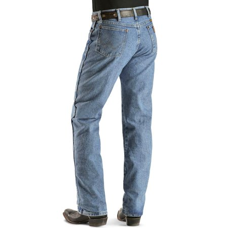 wrangler mens 13mwz cowboy cut original fit jean, antique wash, 29w x 32l ()