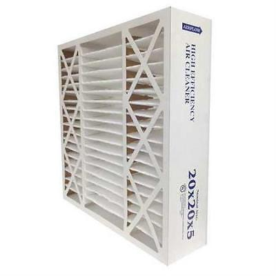 Air Cleaner Filter, 20x25x5, 0.35Efncy, PK2