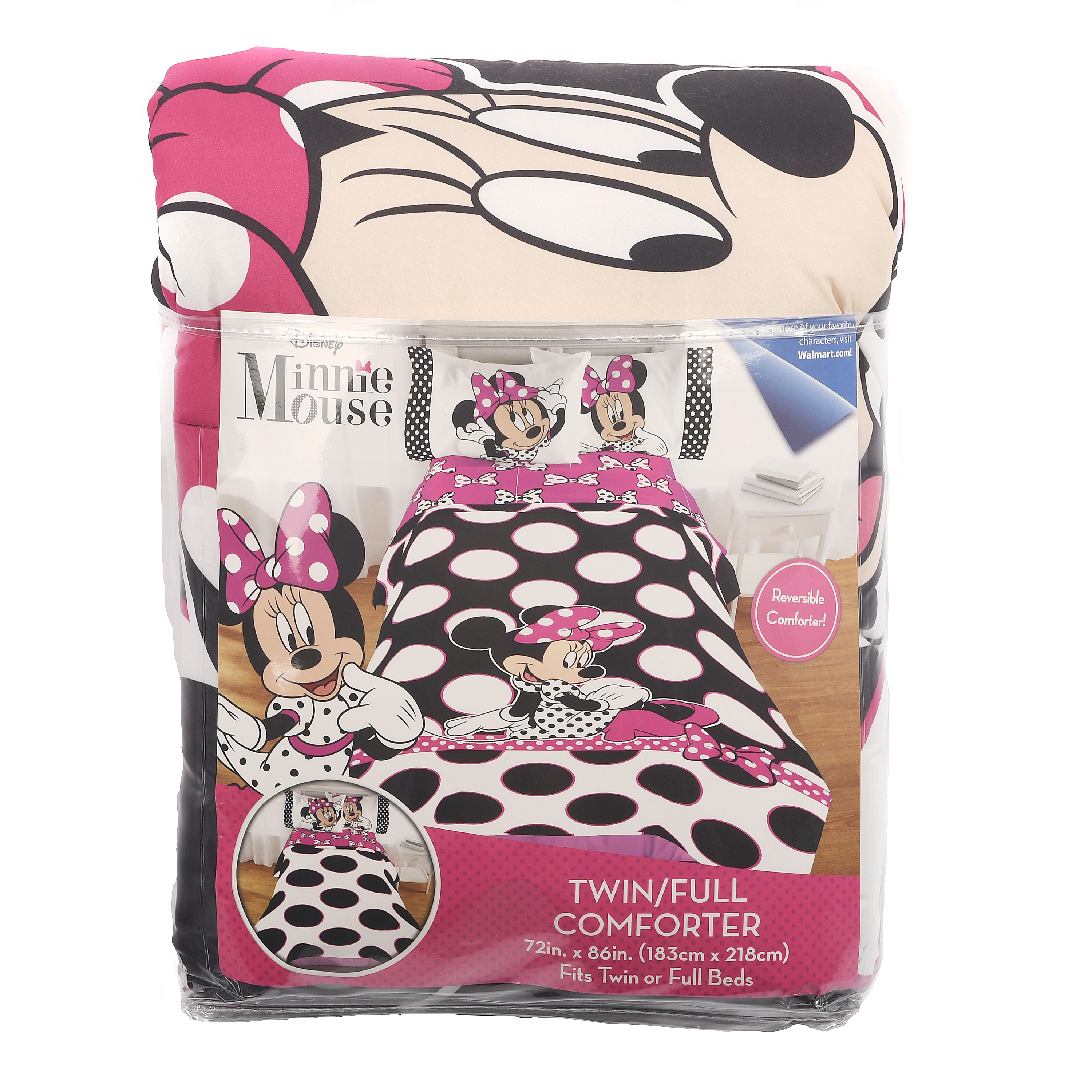 Minnie Mouse Reversible Comforter
