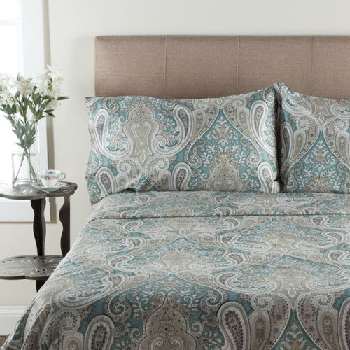 Wildon Home  T300 Thread Count 100pct Cotton Sheet Set