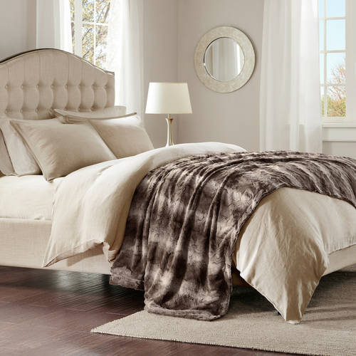 Home Essence Marselle Oversized Faux Fur Throw