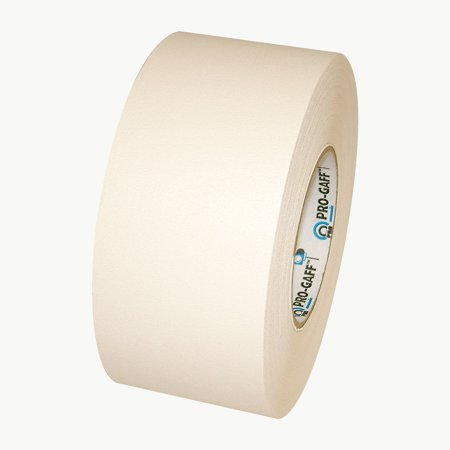 60 Yds White Gaffers Tape (Pro Tapes Pro-Gaff Gaffers Tape: 3 in. x 55 yds.)
