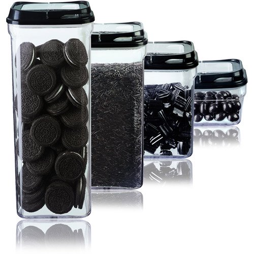 Art and cook 4 piece food storage set for Art cuisine evolution 10 piece cooking set