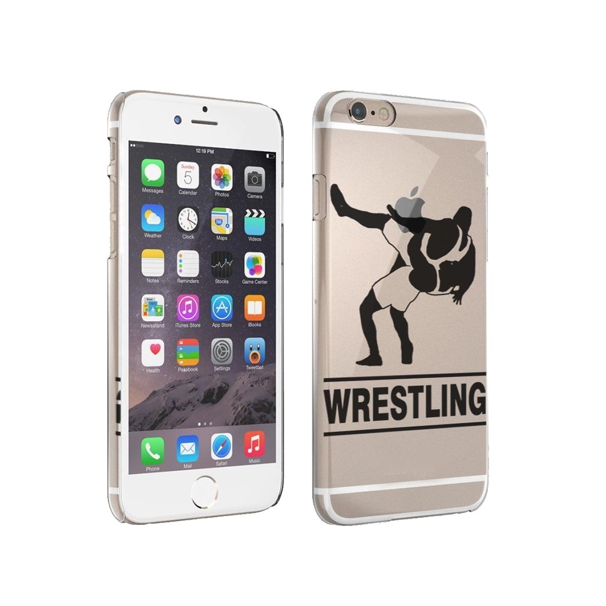 KuzmarK iPhone 6 Rubber TPU Gel Cover Case - Wrestling Match