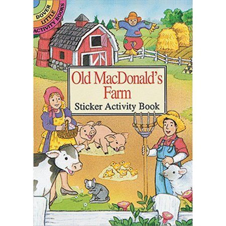 Dover Publications Old MacDonald's Farm Sticker Activity Book