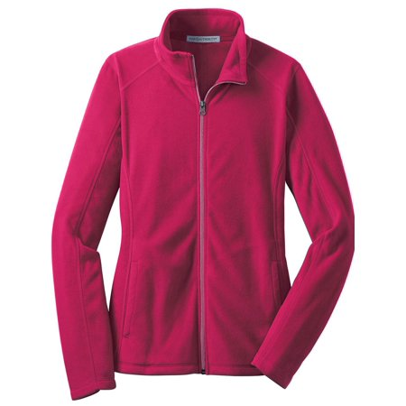 Womens Microfleece Full Zip Jacket - Port Authority Women's Lightweight Microfleece Jacket