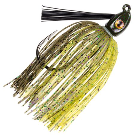 Heavy Jig - Strike King Lures Hack Attack Heavy Cover Swim Jig 5/0 Hook, 3/8 oz, Candy Craw, Per 1
