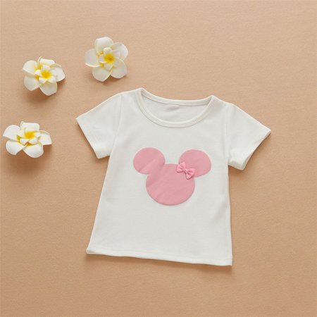 Summer New Cotton Girl Short Sleeved T Shirt Korean Short Sleeved Baby Shirt Fashion Boys Girls Baby Shirt White Walmart Canada