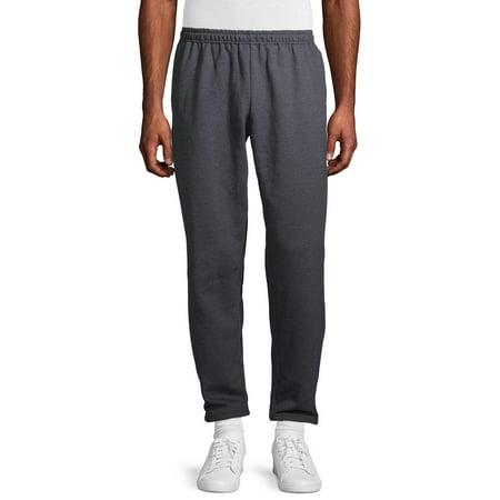 Gildan Men's Fleece Open Bottom Pocketed Sweatpants