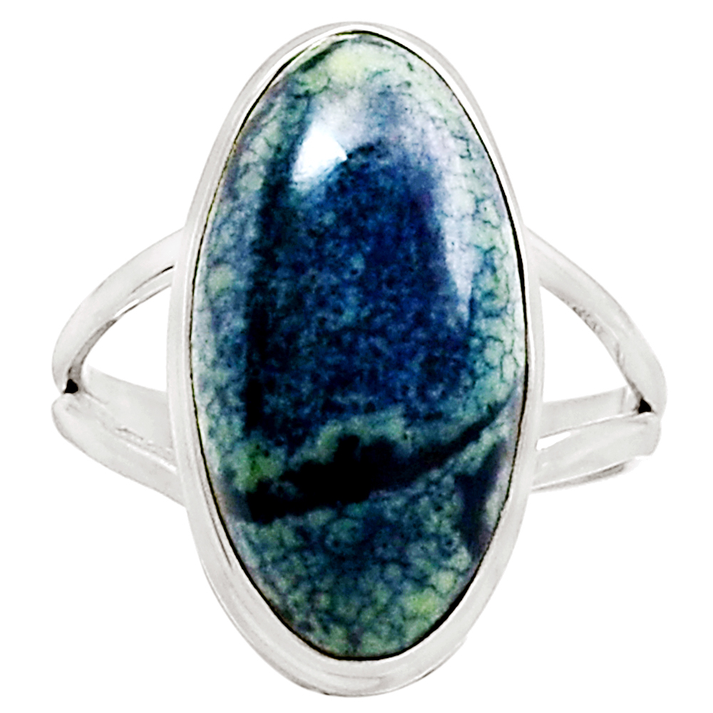 XTREMEGEMS Vivianite 925 Sterling Silver Ring Jewelry s.11 9325R