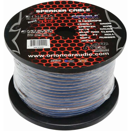 18 Gauge Electrical Wire - Orion S18300PB Cobalt Speaker Wire 18 Gauge 300 Ft
