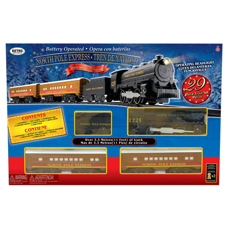 North Pole Express Train Set, 29 Pieces
