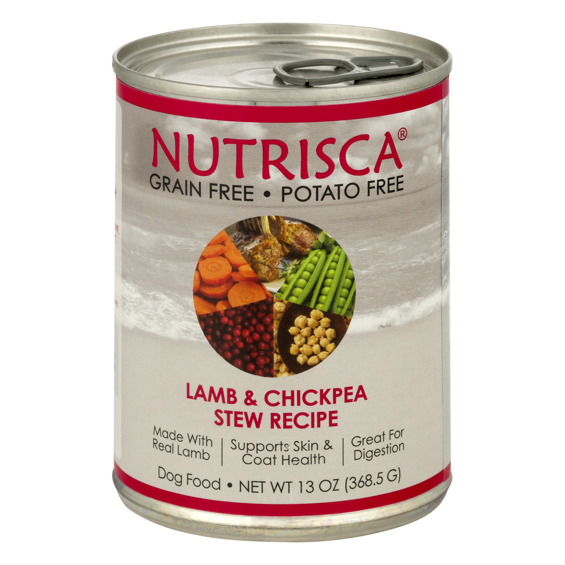 Nutrisca Dog Food Lamb & Chickpea Stew Recipe, 13.0 OZ