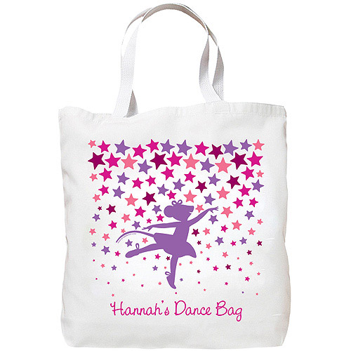 Personalized Angelina Ballerina Dance Class Tote Bag
