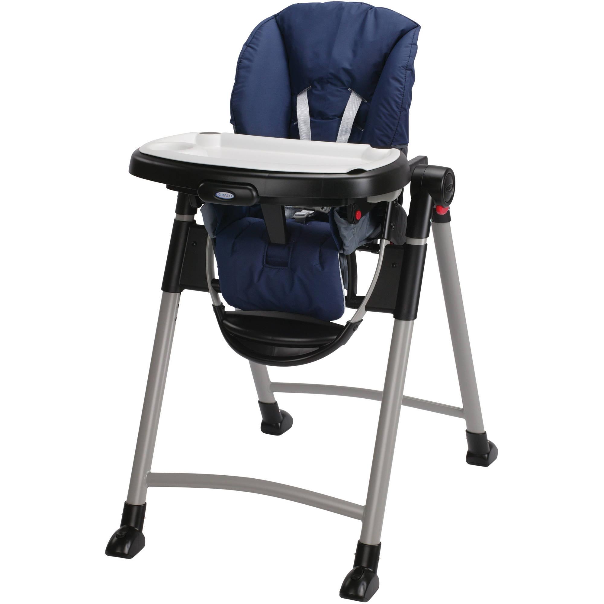 Graco Contempo Space Saver High Chair Midnight Walmart