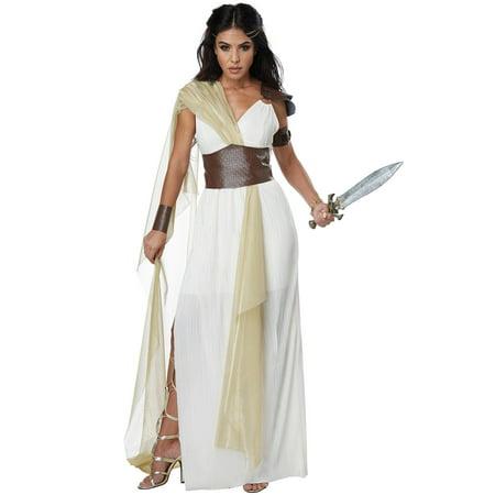 Spartan Warrior Queen Adult Costume - Mens Greek Spartan Warrior Costume