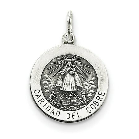 Silver Medal (Sterling Silver Caridad del Cobre)