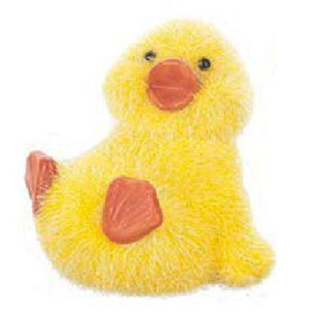 Duck Decoy Figurine (Sitting Springtime Fuzzy Lil' Duck Figurine by Ganz )