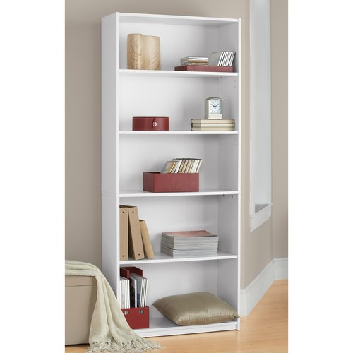 ... 5 Shelf Bookcase - White