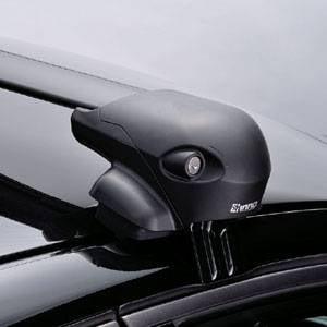 Highlander Roof Rack - INNO Rack 2008-2013 Toyota Highlander With out Factory Rails Aero Bar Roof Rack System XS201/XB108/XB100/K666