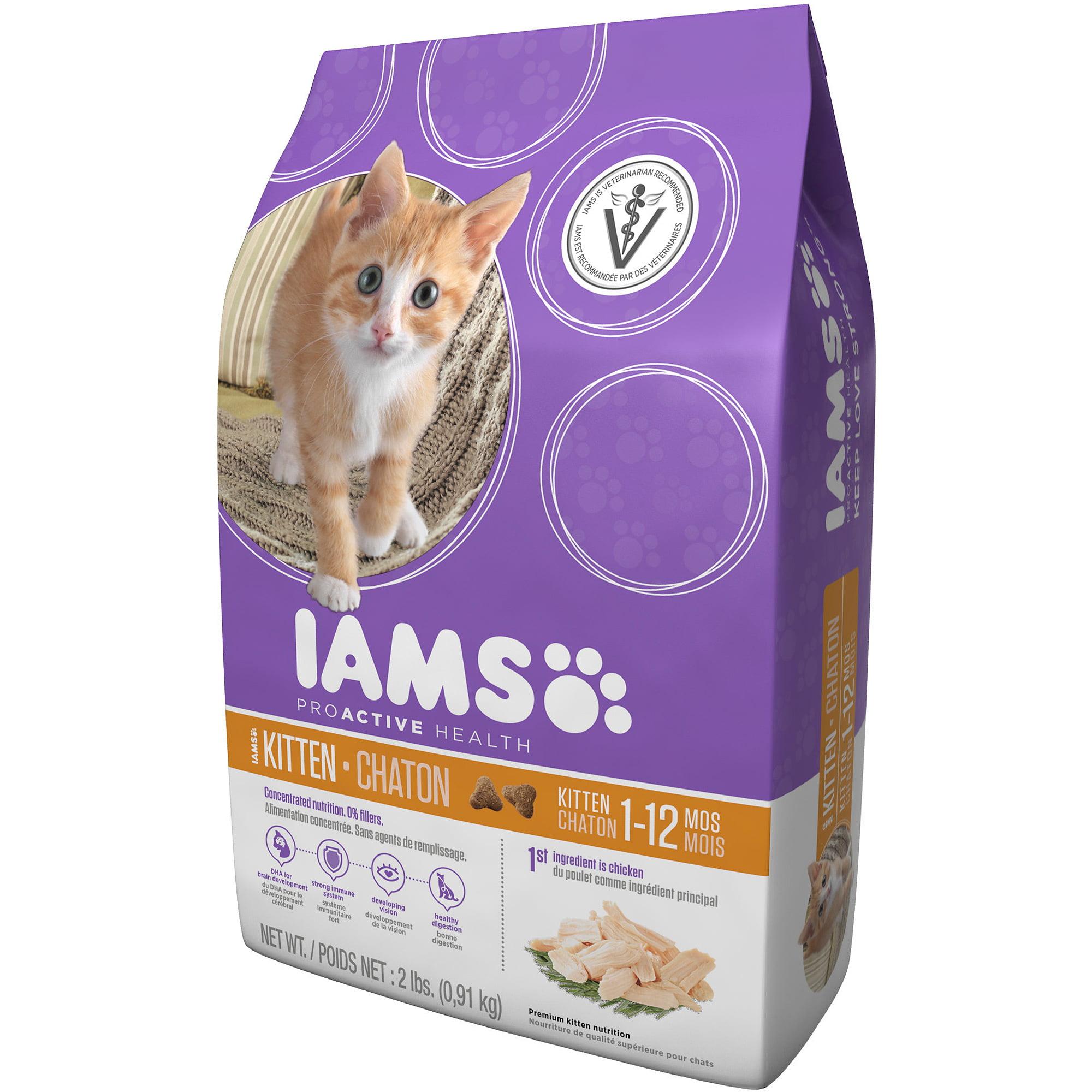 IAMS ProActive Health Kitten Walmart