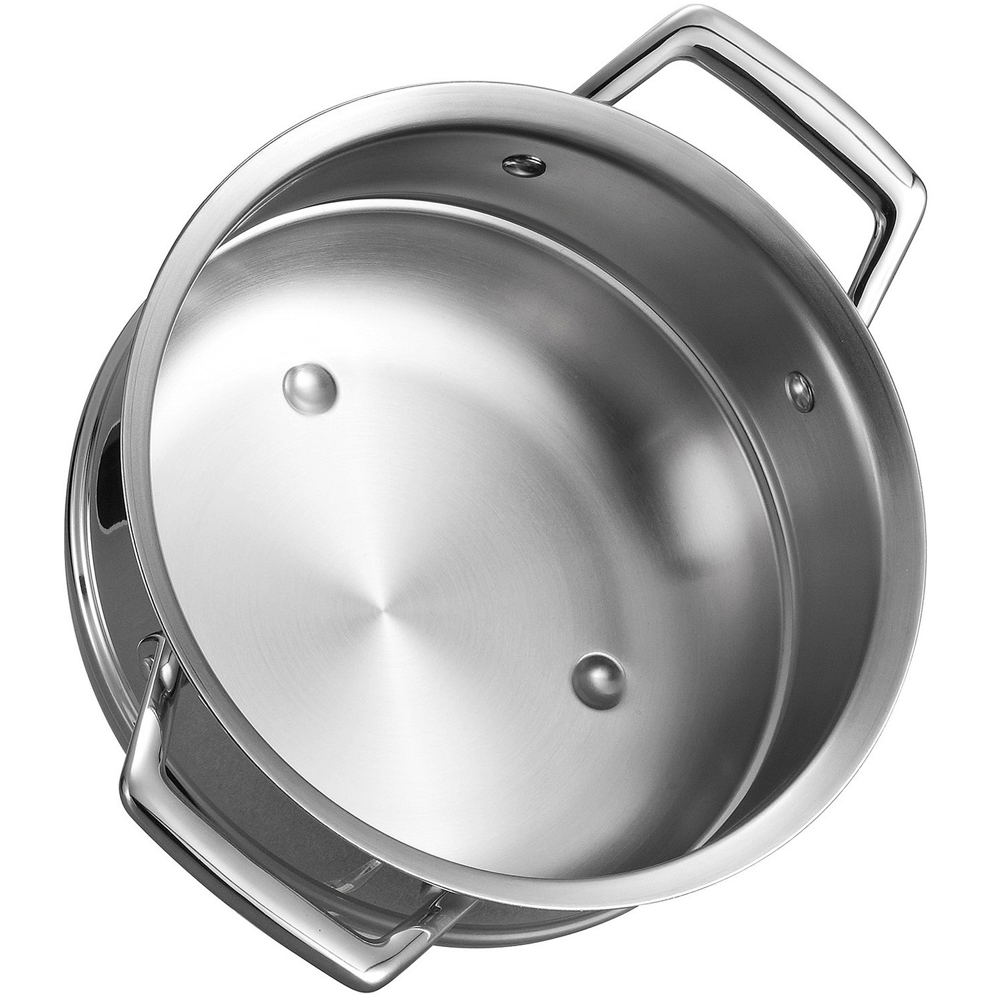 Tramontina Gourmet Prima Double-Boiler Insert (Fits 3 qt and 4 qt Sauce Pans)