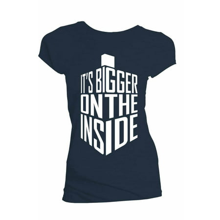 Bigger On The Inside Juniors Shirt