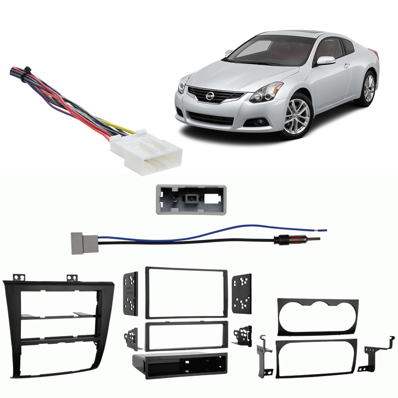 Fits Nissan Altima  Altima Coupe 2007 Din Harness