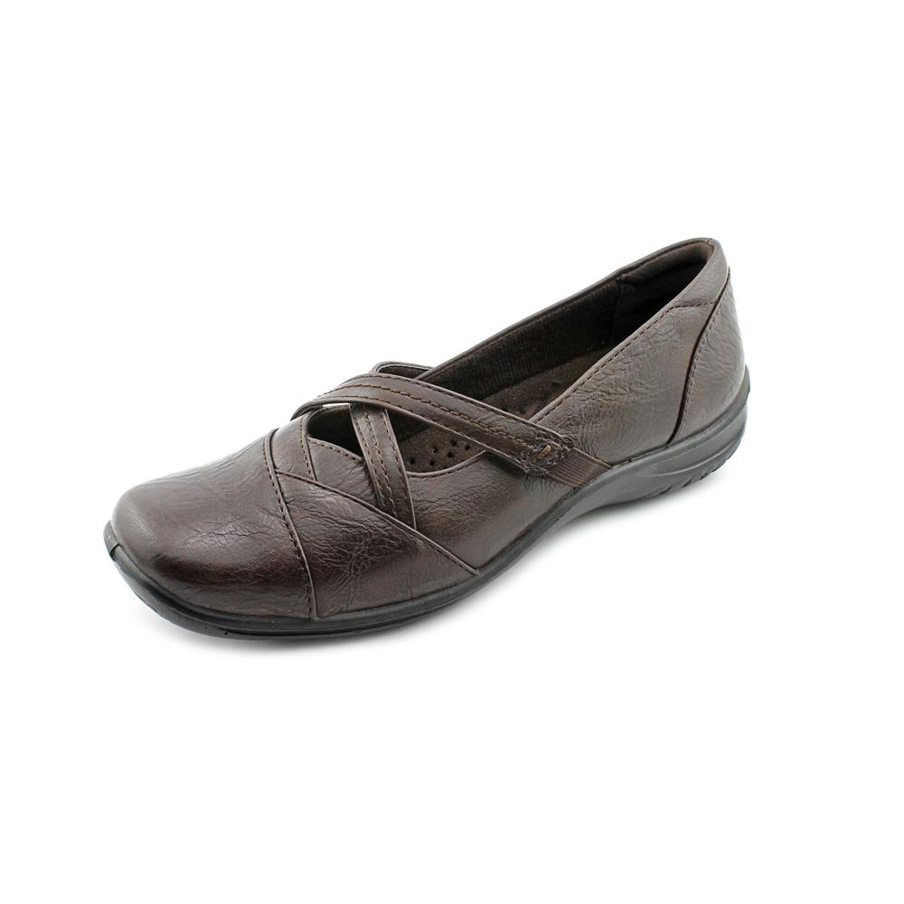 Easy Street Marcie Women Round Toe Synthetic Brown Mary Janes by Easy Street