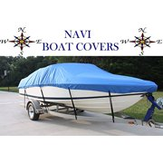 NAVI 25' - 26' BLUE MARINE CANVAS SKI - FISHING BOAT COVER