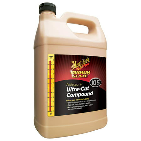 - Meguiar's M105 Mirror Glaze Ultra-Cut Compound, 1 gal