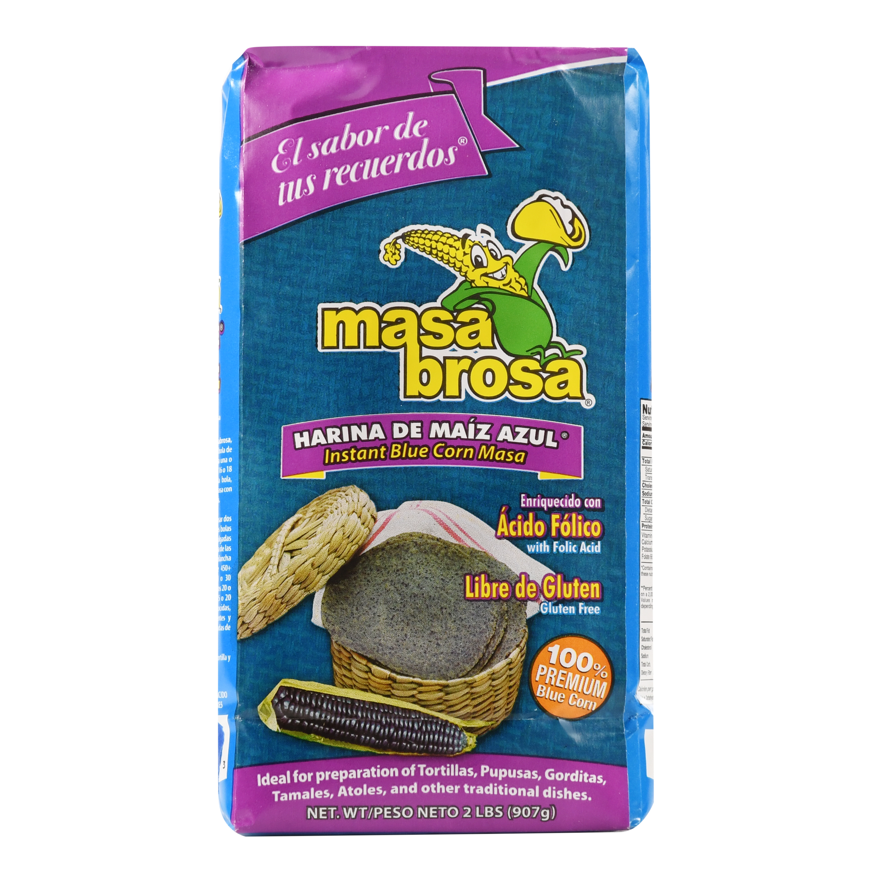 MASABROSA BLUE CORN