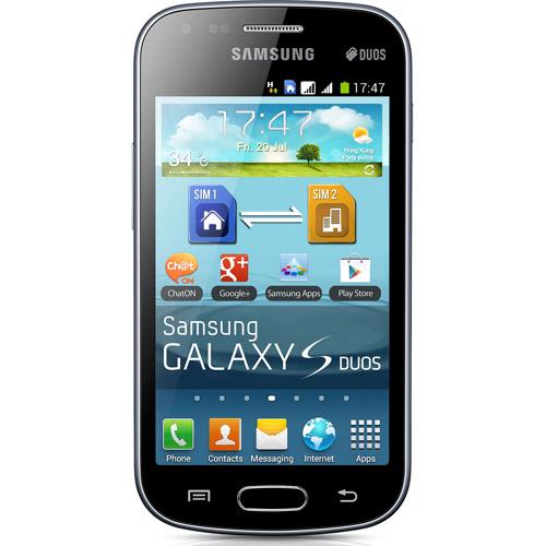 Samsung Galaxy S Duos S7562 GSM Phone, Black (Unlocked)